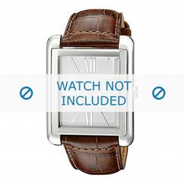 Cinturino per orologio Michael Kors MK2244 Pelle Cognac 24mm