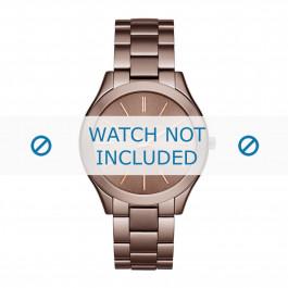 Michael Kors cinturino dell'orologio MK3418 Metallo Marrone 20mm