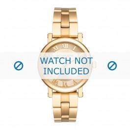 Michael Kors cinturino dell'orologio MK3560 Metallo Oro 18mm