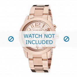Michael Kors cinturino dell'orologio MK5727 Metallo Salito