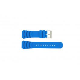 Nautica cinturino orologio A18631 Gomma Blu chiaro 22mm