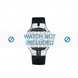 Nautica cinturino dell'orologio A19517G Gomma / plastica Nero
