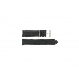 Cinturino per orologio Festina F16101-C / F16101 Pelle Nero 22mm