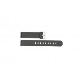 Cinturino per orologio Jacob Jensen 600 / 800 / 601 / 602 / 702 Gomma Nero 19mm
