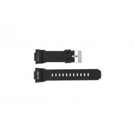 Cinturino per orologio Casio GLX-150-1W Silicone Nero 16mm