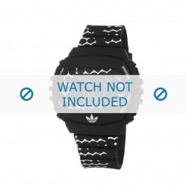 Adidas cinturino orologio ADH6118 Gomma Nero 22mm