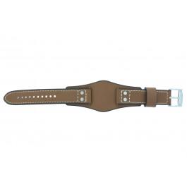 Cinturino per orologio Fossil CH2986 Pelle Cognac 22mm