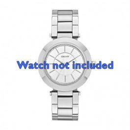 DKNY cinturino orologio NY-2285 Acciaio Argento 18mm