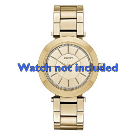 DKNY cinturino orologio NY-2286 Acciaio Oro (Placcato) 18mm