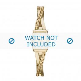DKNY cinturino orologio NY-2237 Acciaio Oro (Placcato) 18mm