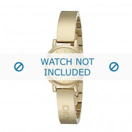 DKNY cinturino dell'orologio NY2307 Metallo Oro 10mm