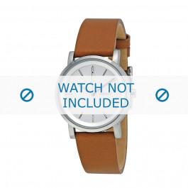 Cinturino per orologio DKNY NY2339 Pelle Placcato oro 18mm