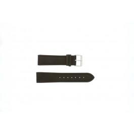 Cinturino per orologio Universale H372 Pelle Marrone 22mm