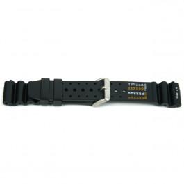 Cinturino per orologio Universale 8136P.10.20 Gomma Nero 20mm