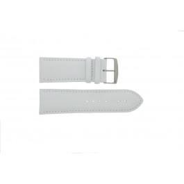 Cinturino per orologio Universale 306.09 Pelle Bianco 32mm