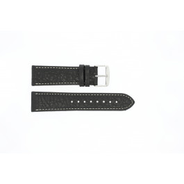 Cinturino per orologio Universale 307R.01 Pelle Nero 22mm