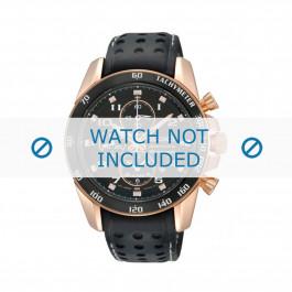 Cinturino per orologio Seiko 7T62-0KV0 / SNAE80P1 / L01M015P0 Pelle Nero 21mm