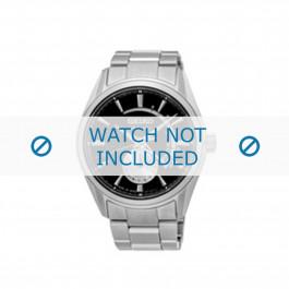 Seiko cinturino dell'orologio SSA305J1 / 4R57 00A0 Metallo Argento 22mm
