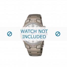 Seiko cinturino dell'orologio 5M42-0L60 Titanio Grigio