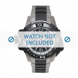 Cinturino per orologio Seiko 7S36-02K0 / SKZ319K1 / 3371NG Acciaio Multicolore 22mm