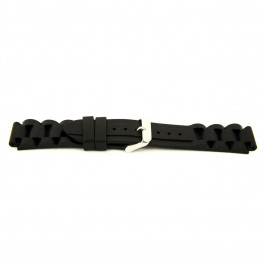 Cinturino per orologio Universale XH12 Silicone Nero 22mm