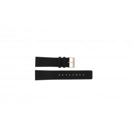 Cinturino per orologio Skagen 233XXLRLB Pelle Nero 22mm