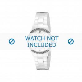 Cinturino per orologio Skagen 347SSXWC Ceramica Bianco 7mm