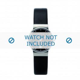 Cinturino per orologio Skagen 355SSLB Pelle Nero 14mm