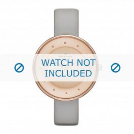 Skagen cinturino dell'orologio SKW2139 Pelle Marrone 14mm