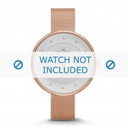 Cinturino per orologio Skagen SKW2142 / 254XXXX Acciaio Vino rosé 14mm
