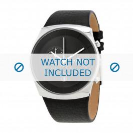 Cinturino per orologio Skagen SKW6070 Pelle Nero 30mm