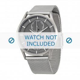 Skagen cinturino dell'orologio SKW6172 Metallo Argento 22mm