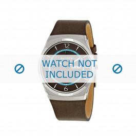 Skagen cinturino dell'orologio SKW6305 Pelle Marrone 28mm