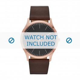 Cinturino per orologio Skagen SKW6330 Pelle Marrone 22mm