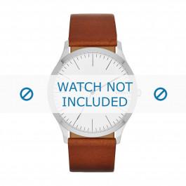 Cinturino per orologio Skagen SKW6331 Pelle Cognac 22mm