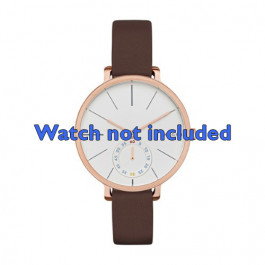 Cinturino per orologio Skagen SKW2356 Pelle Marrone 12mm