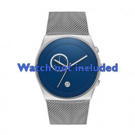 Skagen cinturino orologio SKW6185 Acciaio Argento 30mm