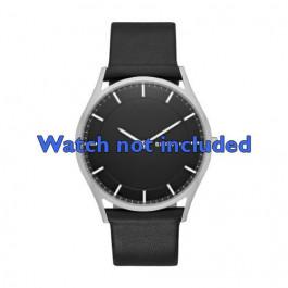 Skagen cinturino orologio SKW6220 Pelle Nero 22mm