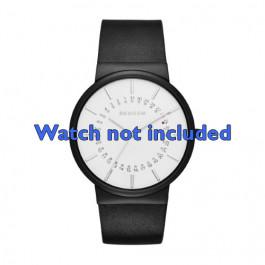 Cinturino per orologio Skagen SKW6243 Pelle Nero 20mm