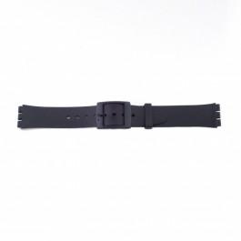 Cinturino per orologio Swatch (alt.) P51 Plastica Nero 17mm