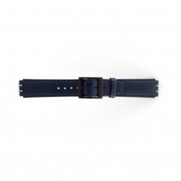 Cinturino per orologio Swatch SC11.05 Pelle Blu 17mm