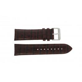 Tommy Hilfiger cinturino dell'orologio TH-67-1-14-0759 / TH1710177 / TH1710178 Pelle Marrone + cuciture marrone