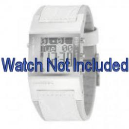 Cinturino per orologio Diesel DZ7043 Pelle Bianco 24mm