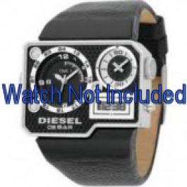 Cinturino per orologio Diesel DZ7101 Pelle Nero 39mm