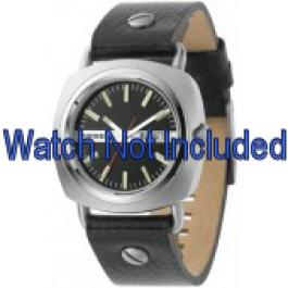 Cinturino per orologio Diesel DZ2129 Pelle Nero 22mm