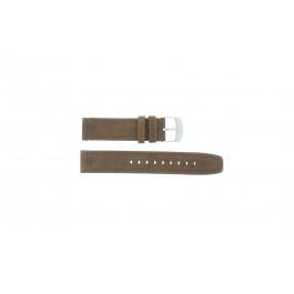 Cinturino per orologio Timex P49828 Pelle Marrone 20mm