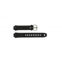 Timex cinturino orologio T5E901 Silicone Nero 16mm