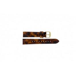 Timex cinturino orologio T2P237 Pelle Marrone 18mm