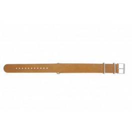 Cinturino per orologio Timex T2P492 / P2P492 / PW2P62300 Pelle Marrone 20mm