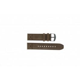Cinturino per orologio Timex P49986 / T49986 Pelle Marrone 22mm